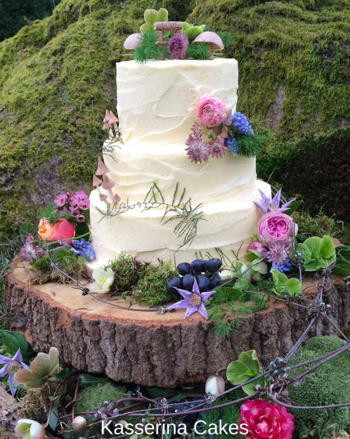 Pixie Boho Wedding Cake