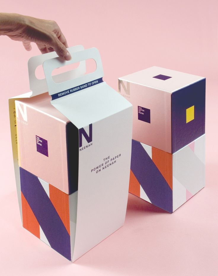 Produced by Design Army, The Power of Paper: ON promotion by Neenah is a creative exercise for package design created to surprise, enlighten and inspire the creative mind, an objective that is achieved at first glance.