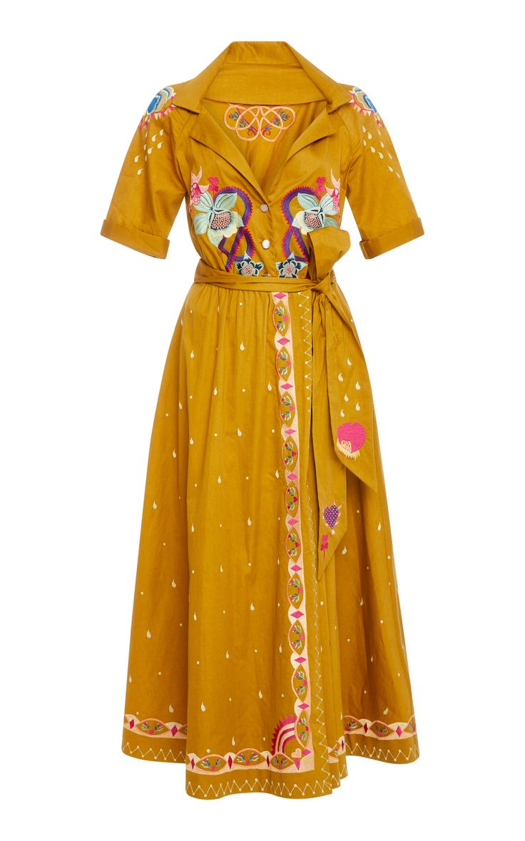Divine Wrap Dress by TEMPERLEY LONDON for Preorder on Moda Operandi