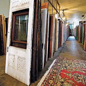 Tips for finding great collectibles at the right price from salvage yards.