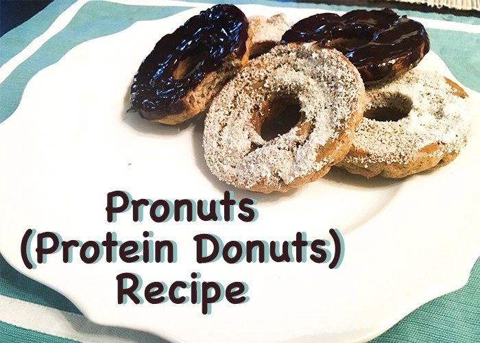 These donuts aren't just a better alternative to a Dunkin' Donut run. They're made with ingredients to aid your fitness progress! Stacked with protein, healthy fats, low in carbs, and sugar-free, you could literally eat these donuts for breakfast every day.