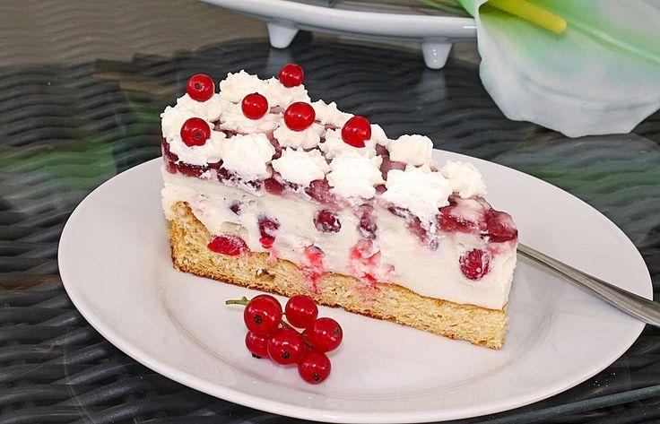 Beste Rezeptesammlung: Johannisbeer - Joghurt - Torte