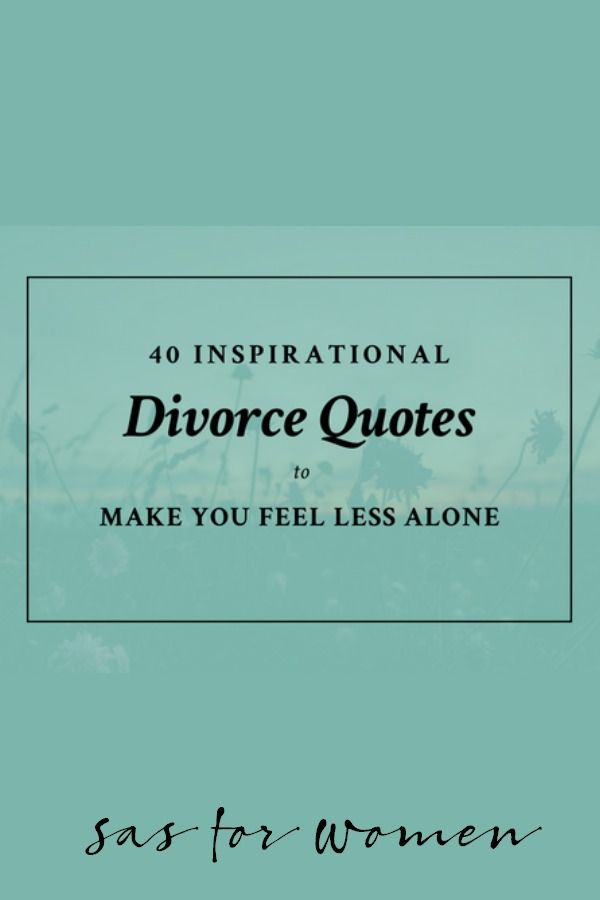 women and divorce after 40