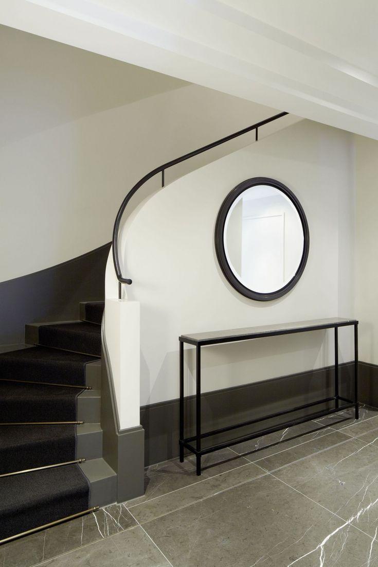 die besten 25 geschwungene treppe ideen auf pinterest foyertreppe sch ne kurven und runde. Black Bedroom Furniture Sets. Home Design Ideas