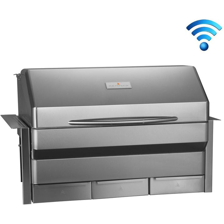 Memphis Grills Elite Wi-Fi Controlled 39-Inch 304 Stainless Steel Built-In Pellet Grill - VGB0002S available at BBQ Guys. Memphis Grills...