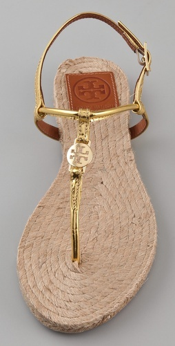 Tory Burch Emmy Flat Espadrilles ♥✤ | Keep the Glamour | BeStayBeautiful