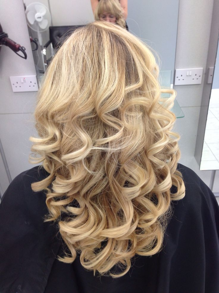 curly hair blonde ghd curls family makeup and hairstyles