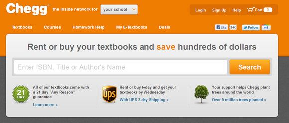 cheap used college textbooks