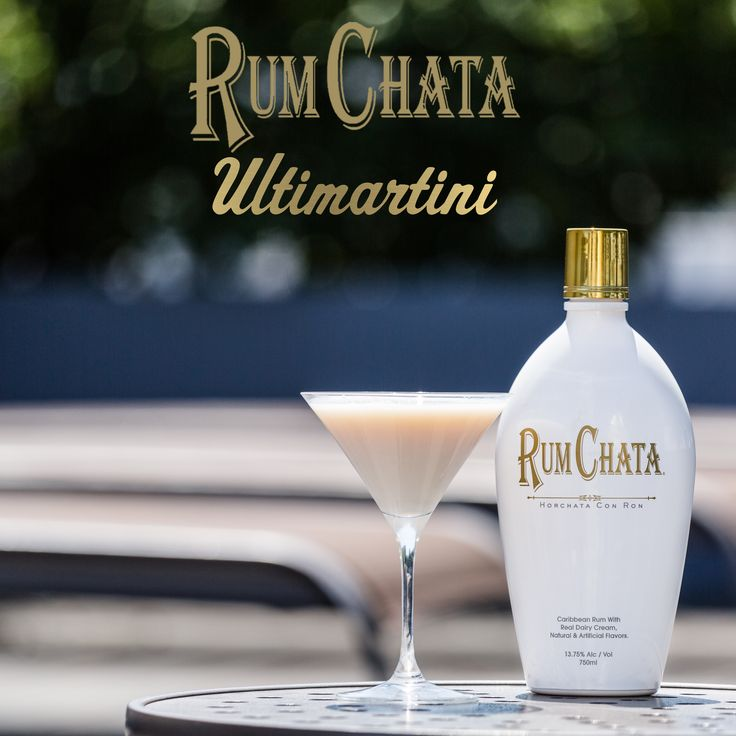 THE RUMCHATA ULTIMARTINI:  2 parts RumChata, 1 part Vanilla Vodka, 1/2 part Frangelico, Shake with ice and strain into a martini glass.
