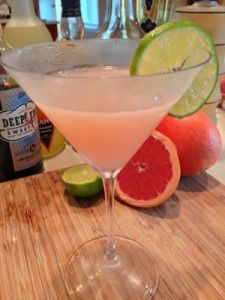 Ruby Martini- if you like grapefruit....Deep Eddy Ruby Red Vodka Cocktail Recipe. Add some agave nectar to sweeten it up. Shake. Yum!