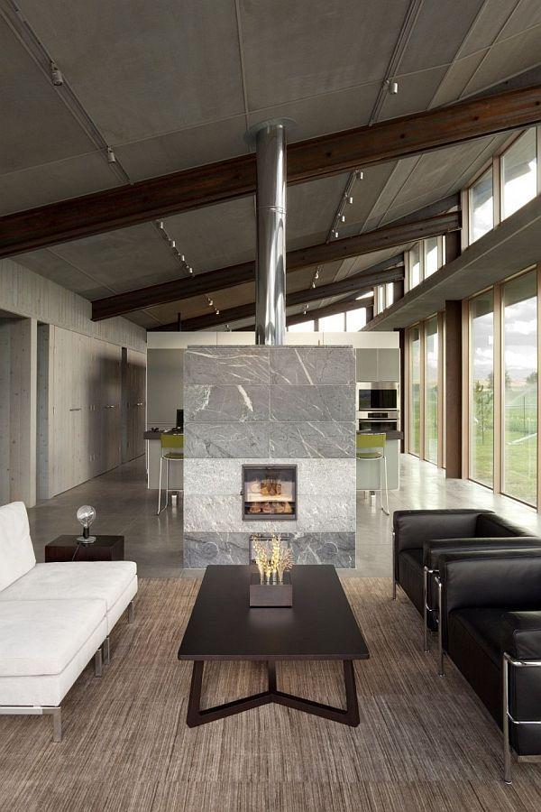 olson kundig architects / glass farmhouse, northeastern oregon