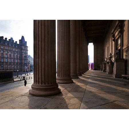 St Georges Hall Lime Street Liverpool Merseyside England Canvas Art - Panoramic Images (36 x 24)