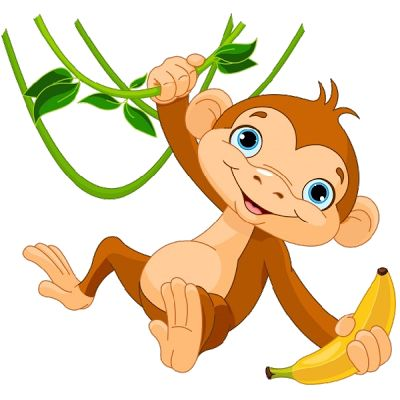 Monkeys Cartoon Clip Art