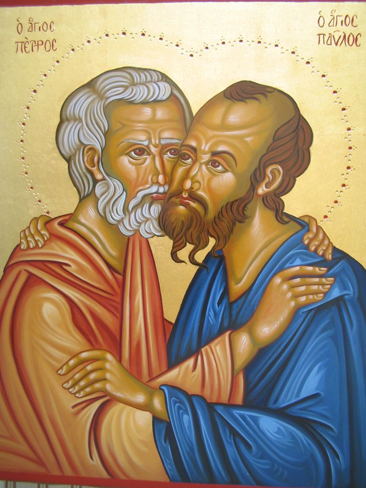 santi Pietro e Paolo per mano di Assunta Fraraccio