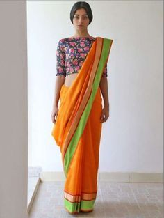 high neck saree jacket designs for teenagers - Google Search