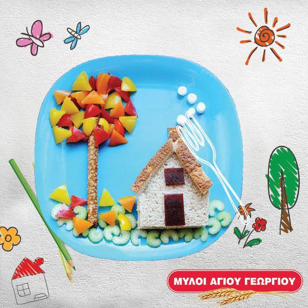 Το μικρό σας αποφεύγει τα λαχανικά του ή τη σαλάτα του; Ένας έξυπνος και δημιουργικός τρόπος για να το δελεάσετε να τα φάει είναι η… εικόνα! Διακοσμήστε το πιάτο με αστείο τρόπο, τοποθετώντας τα λαχανικά σε σχήμα φυλλωσιάς δέντρου και ένα κριτσίνι για κορμό! #myloiagiougeorgiou #salad #vegetables #healthyfood