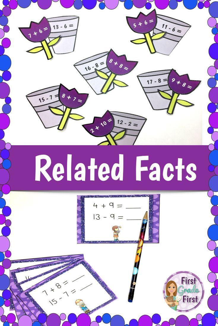 Related Facts Elementary Education Pinterest Curriculum Math