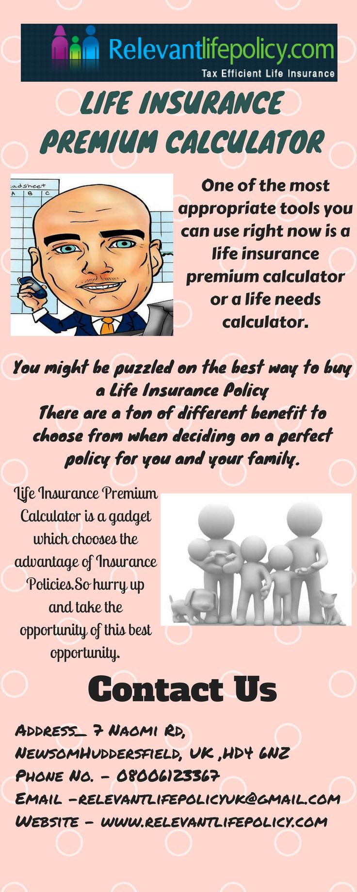 Searching for the right #Life #Insurance #Premium #Calculator policy? Well, then make sure you visit Relevant Life Policy.There is always some amount of money required for unexpected emergencies and expenses; it also should be calculated using the life insurance calculator.So hurry up and take the opportunity of this best opportunity.