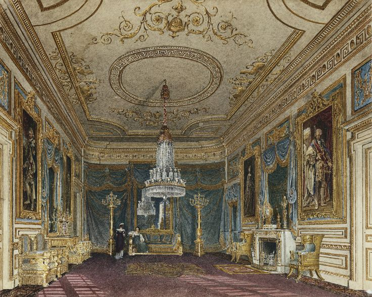 The Ante Chamber to the Throne Room, Carlton House.  Charles Wild (1781-1835) (artist)  c.1816