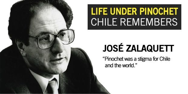 "Life under Pinochet: Chile remembers - ""Pinochet was a stigma for Chile and the world"" 