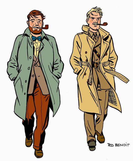 Las Aventuras de Blake y Mortimer: El blog renovado: nuevo diseño e intensificada pre...