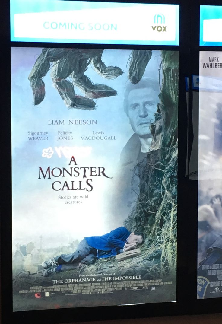 The poster for A Monster Calls at my local cinema has Liam Neeson awkwardly edited in despite not physically appearing in the film. http://ift.tt/2iarDVJ #timBeta