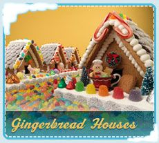 Gingerbread House. With a reliable oven you get flatter, easier to use pieces