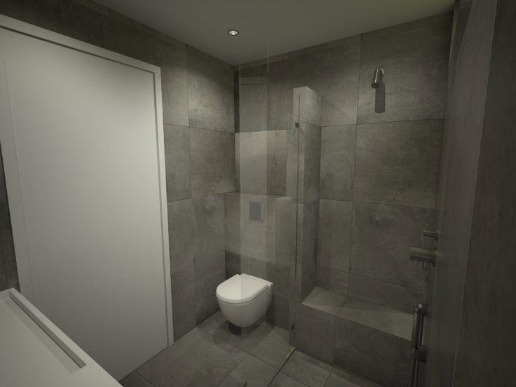 17 beste idee n over kleine badkamers op pinterest moderne kleine badkamers en kleine badkamer - Badkamer modellen met italiaanse douche ...