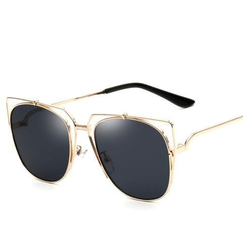 That Summer Feeling Mirrored Sunglasses