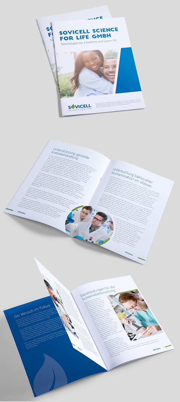 Sovicell (Healthcare Technology) Booklet design