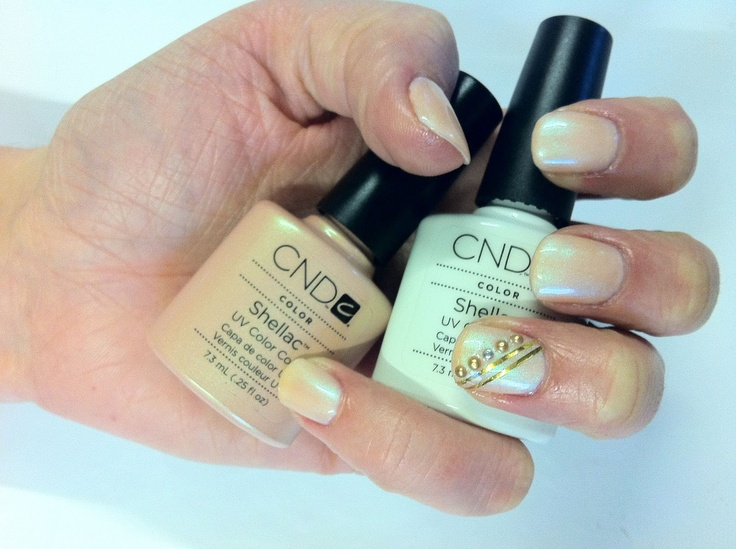 66 best shellac layers images on pinterest shellac layering cnd cnd shellac layering studio white and iced coral with diamante and gold striping foil nail art prinsesfo Image collections