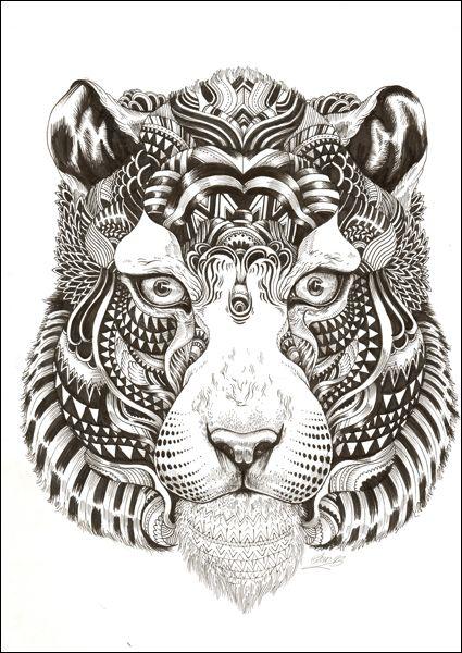 Animalarium: Sunday Safari - Goodbye Tiger - love the details but in a different animal