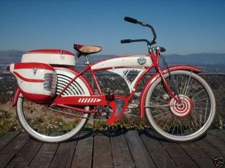 Pee Wee Herman's bike. One of several originals here at # totally80spizza  #FortCollinsCo