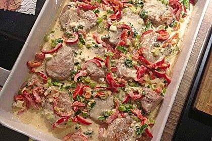 Schweinefilet mit Schafskäse überbacken, ein gutes Rezept aus der Kategorie Schwein. Bewertungen: 10. Durchschnitt: Ø 3,9.