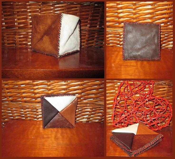 Box wallet. By Jenny South.