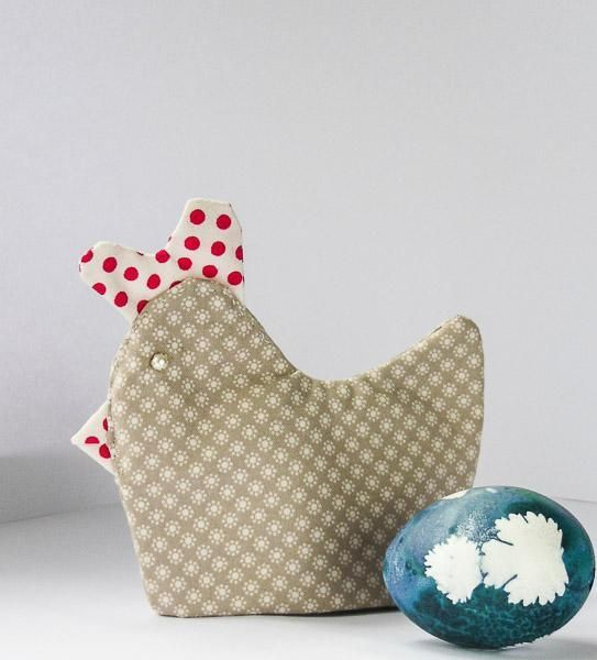 44 best easter sewing projects images on pinterest sewing easy sewing pattern for easter egg warmers in the shape of hens negle Choice Image