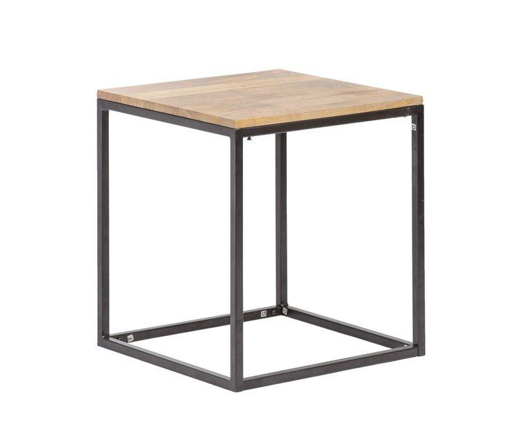 50 cm x 55 cm x 50 cm coffee table, mango wood  http://unodesign.pl/item/676/299/Katalog-produktow/Meble/Kolekcje/SoHo/Stolik-kawowy--pomocnik.html