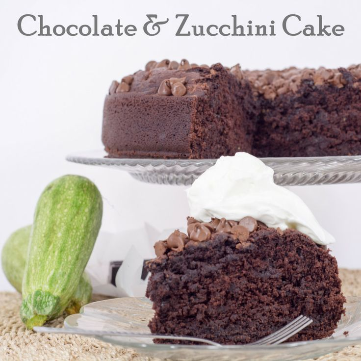 Zucchini and chocolate? I have to do this!