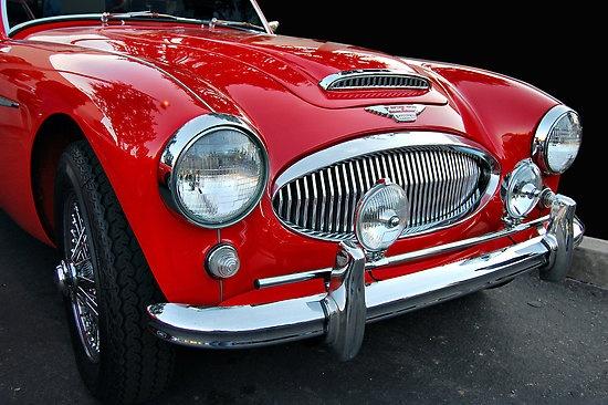 Healey 3000 MkII; my dream car