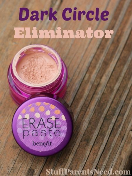 Dark Circles Solved: I Love Erase Paste