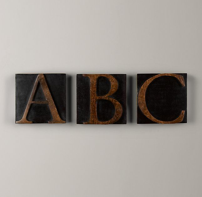 how to make decorative wooden blocks