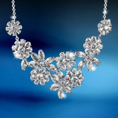 Newbridge Silverware Art Deco Style Vintage Necklace