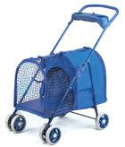 Four Paws Fresh Air Pet Stroller - Blue, perfect to give your guinea pig fresh air!