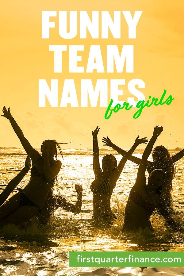 Find Ideas For Funny Team Names For Your Sports Or School Team Get Creative And Learn How To Choose Th Funny Team Names Funny Group Chat Names Best Team Names
