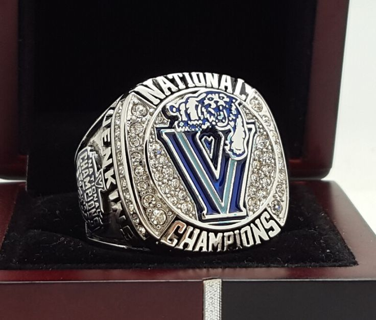 2016 Villanova Wildcats University BASKETBALL NCAA National Championship Ring 7-15 Size COPPER SOLID Engraved Inside | Herta Store