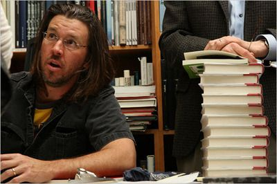 walkwhilereading:  Craig Fehrman has dug up the 1996Details Profile of David Foster Wallace, mentioned more then a few times in David Lipsky's Although of Course You End Up Becoming Yourself: A Road Trip with David foster Wallace. This post care of The Millions, love this website.