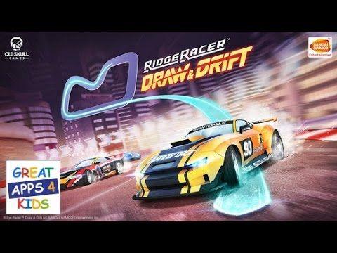 Ridge Racer Draw and Drift | HD Gameplay