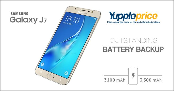 #SamsungGalaxy J7 has an impressive battery backup. Buy now! #samsungmobiles #samsungmobilesprice