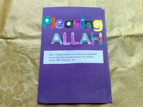 Pleasing Allah Lapbook (for under 7s)