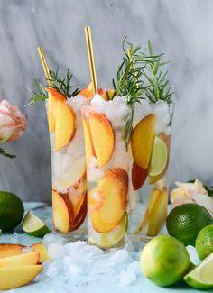 Deliciosos cocteles para el calor! Ideal para adultos en fiestas infantiles me coloridos y refrescantes
